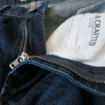 リーバイス メイド&クラフテッドのジーンズ「テーパードテーパー」をレビューします!